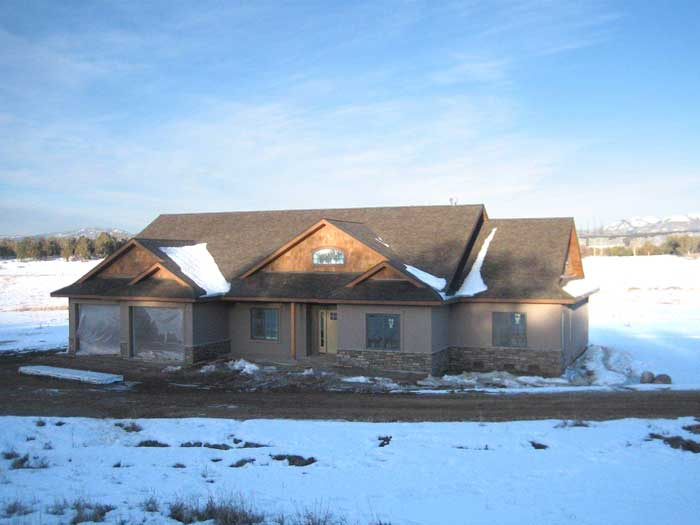 Durango custom home construction