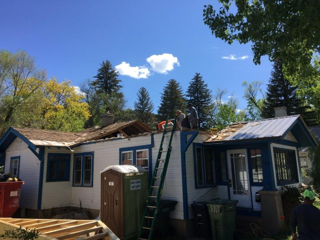Have to completely remodel the roof structure on this Durango Home