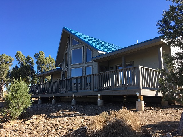 Finished Fall of 2016 this home in Mancos looks out over fantastic mountain views.